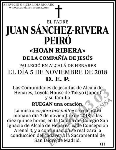 Juan Sánchez-Rivera Peiró